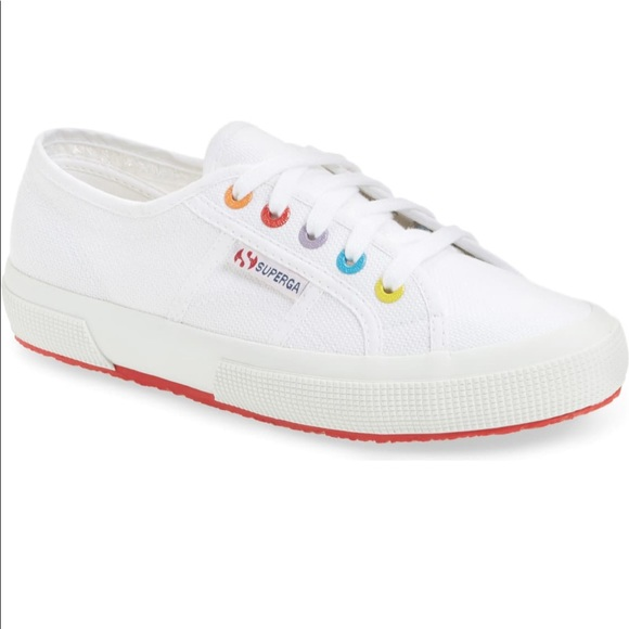 Superga Shoes | Rainbow Sneakers | Poshmark